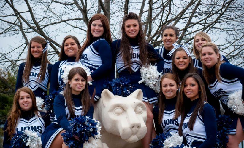 PENN STATE NITTANY LIONS college football cheerleader wallpaper
