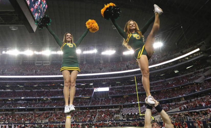 BAYLOR BEARS college football cheerleader wallpaper