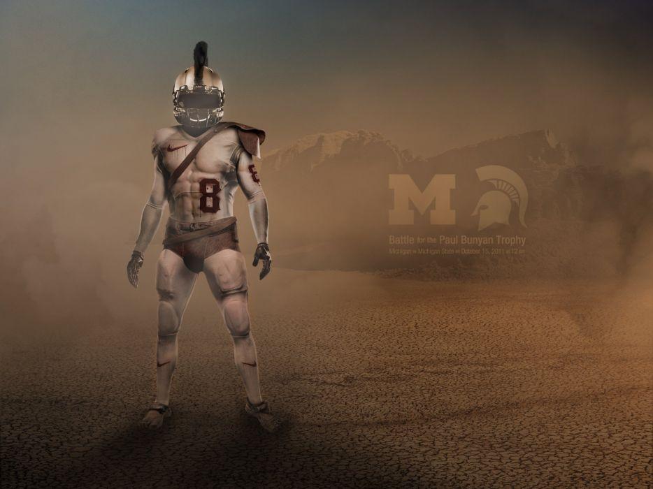 MICHIGAN STATE SPARTANS college football wallpaper