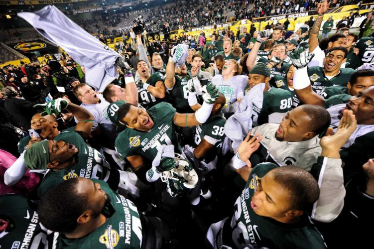 MICHIGAN STATE SPARTANS college football wallpaper