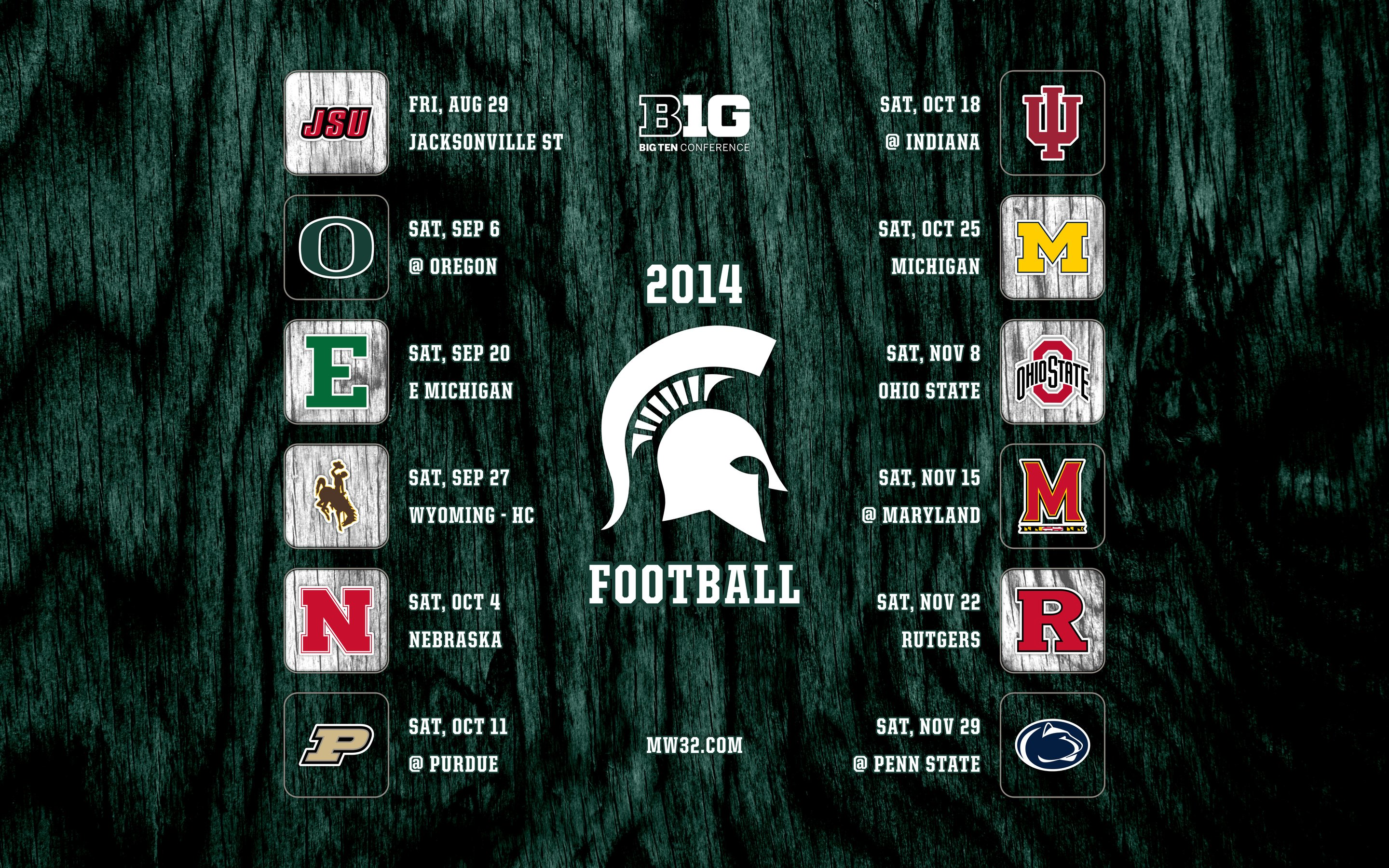 Michigan State Logo Wallpaper