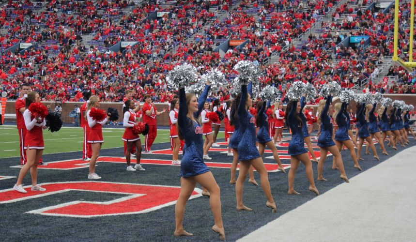 OLE MISS REBELS college football mississippi cheerleader wallpaper
