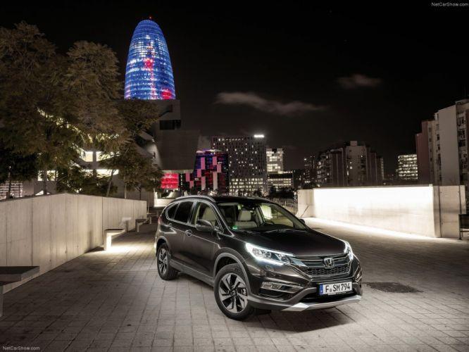 Honda CR-V 2015 suv cars wallpaper