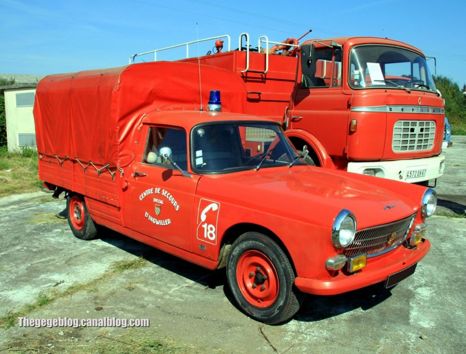 Peugeot 404 classic french cars pickup wallpaper