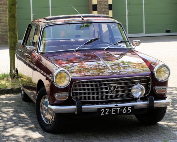 Peugeot 404 classic french cars sedan wallpaper