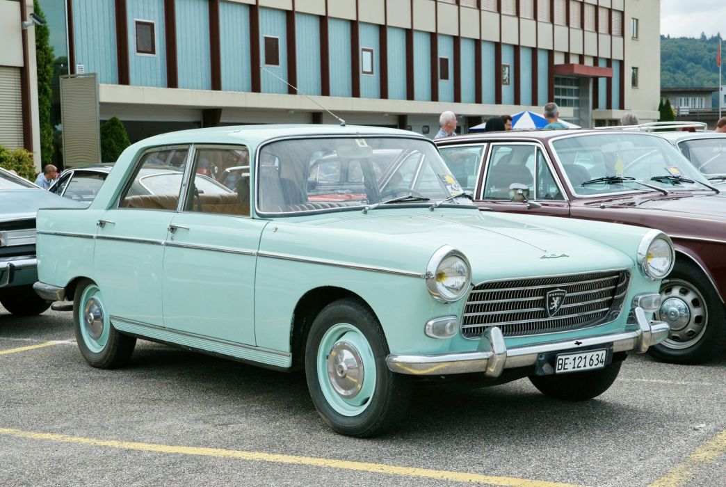 Peugeot 404 classic french cars sedan wallpaper
