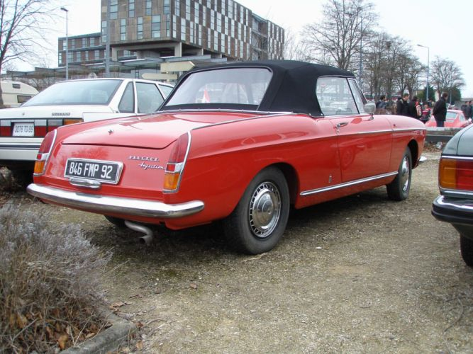 Peugeot 404 classic french cars cabriolet convertible wallpaper