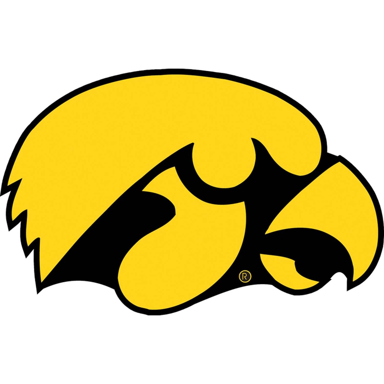 College Football Symbols Iowa Hawkeyes College Football