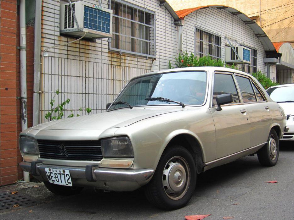 cars classic french peugeot 504 sedan wallpaper