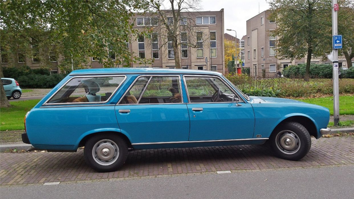 cars classic french peugeot 504 wagon wallpaper