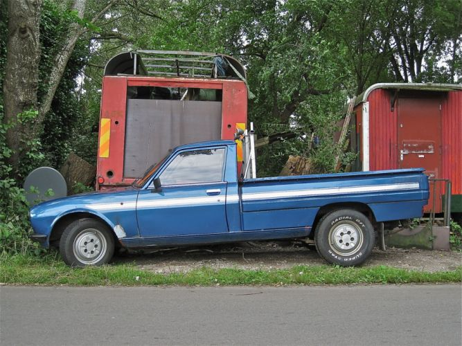 cars classic french peugeot 504 pickup wallpaper