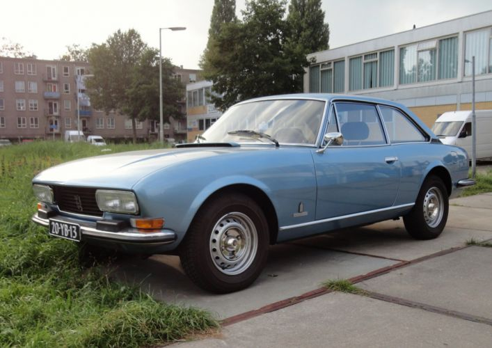 cars classic french peugeot 504 coupe wallpaper