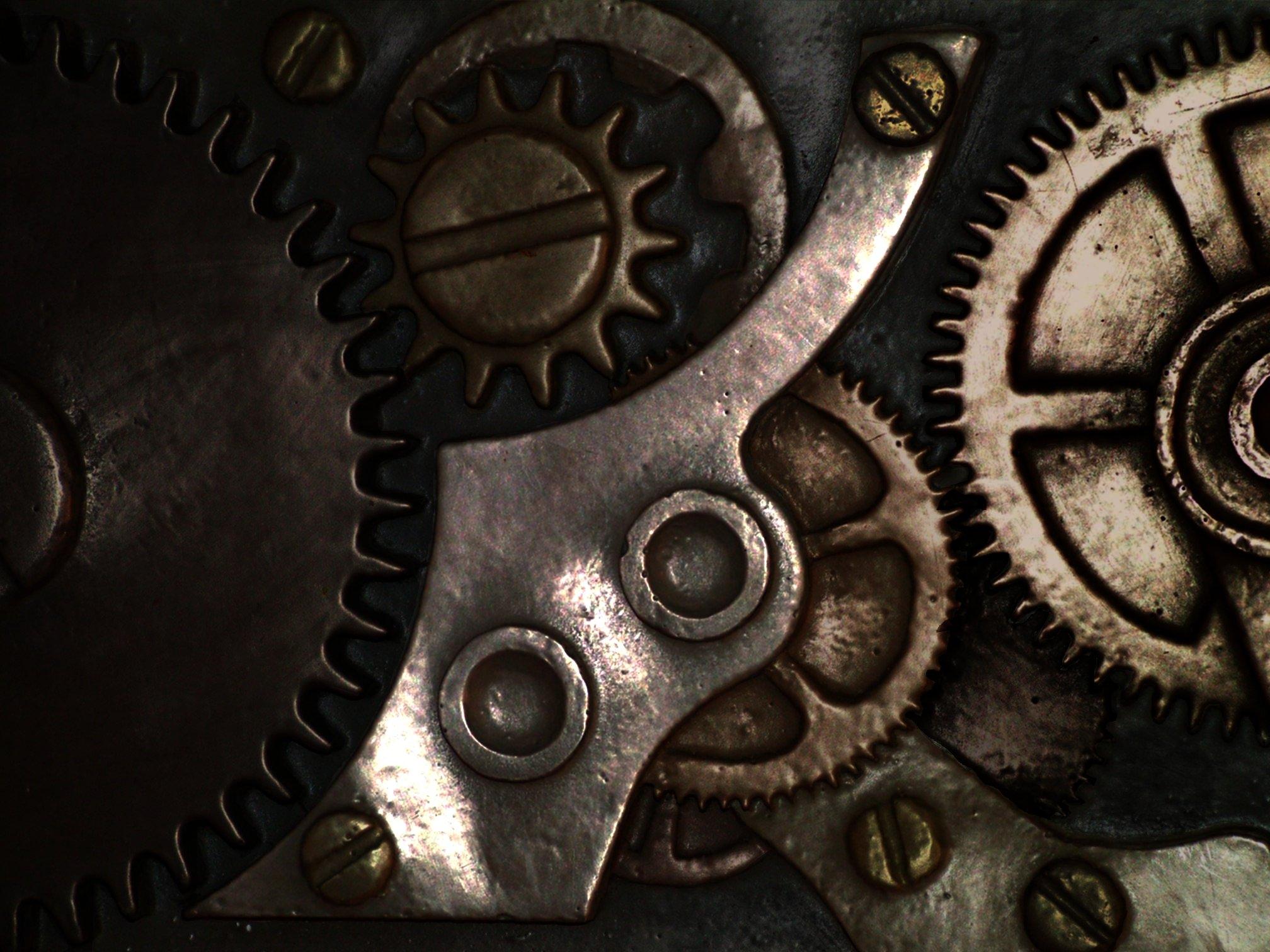 gears wallpaper clocks steampunk - photo #11