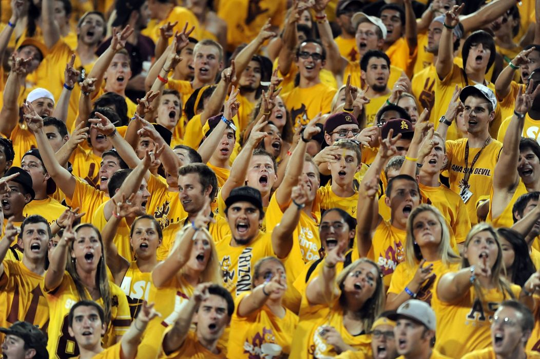ARIZONA STATE SUN DEVILS college football 1sundevils crowd people wallpaper