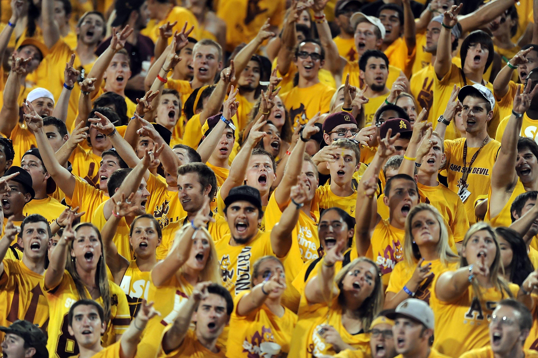 Asu Football Wallpaper: ARIZONA STATE SUN DEVILS College Football 1sundevils Crowd