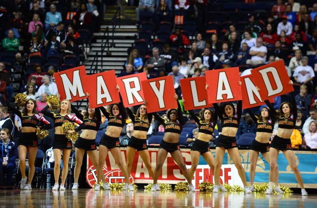 MARYLAND TERRAPINS college football cheerleader wallpaper