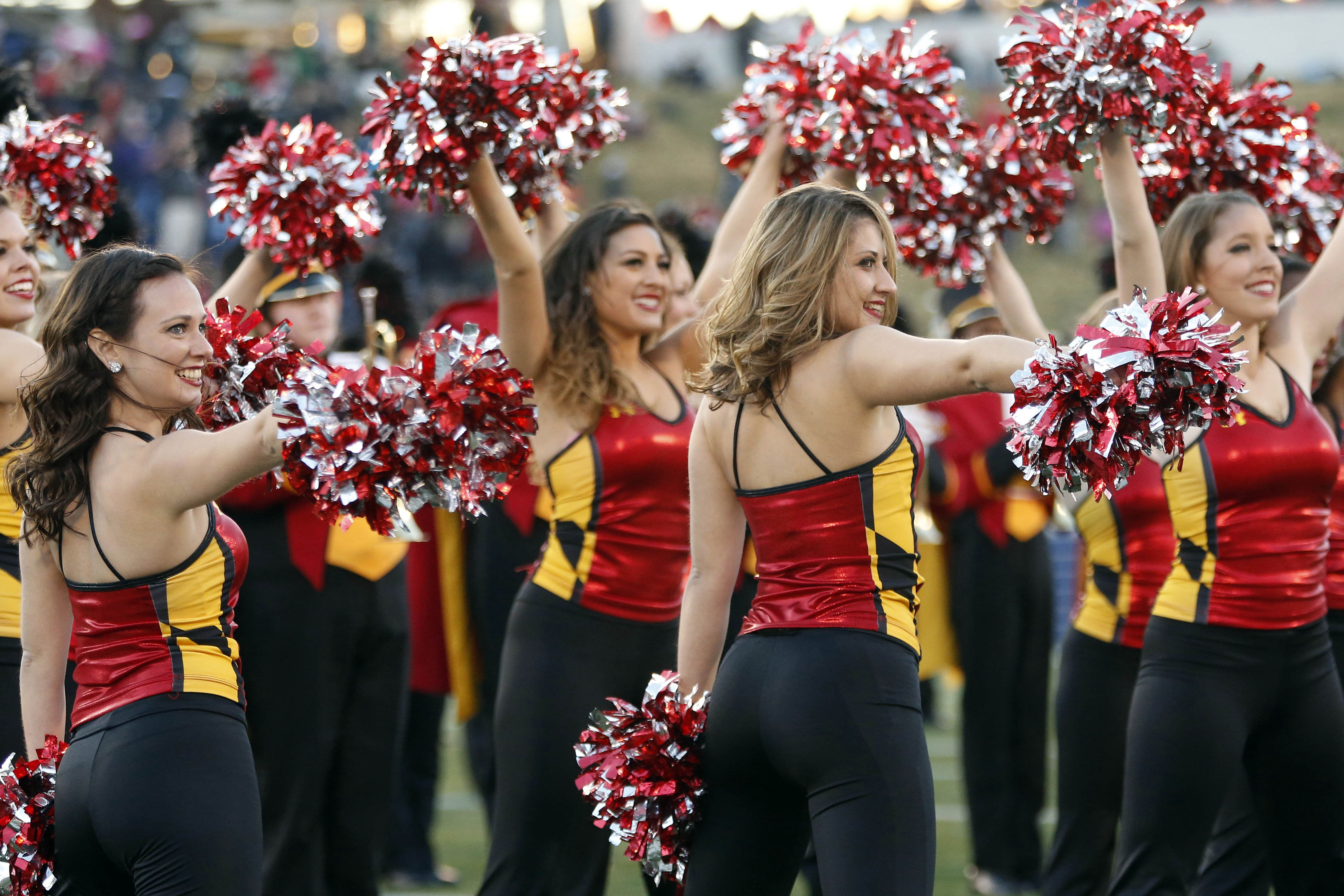MARYLAND TERRAPINS college football cheerleader wallpaper | 4468x2979 ...