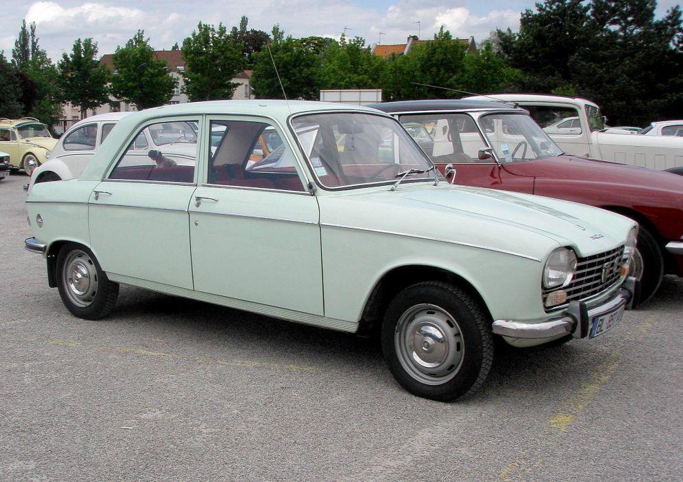 Peugeot 204 cars classic french sedan wallpaper