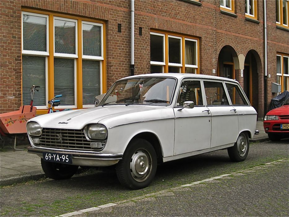Peugeot 204 cars classic french wagon wallpaper