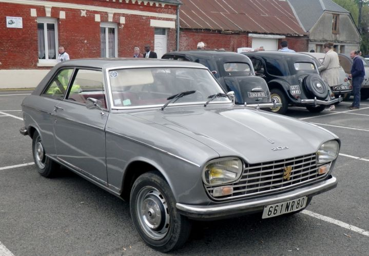 Peugeot 204 cars classic french coupe wallpaper