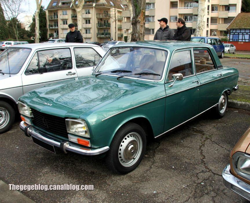 Peugeot 304 cars classic french sedan wallpaper