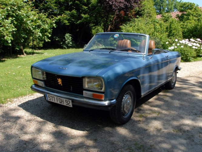 Peugeot 304 cars classic french convertible cabriolet wallpaper