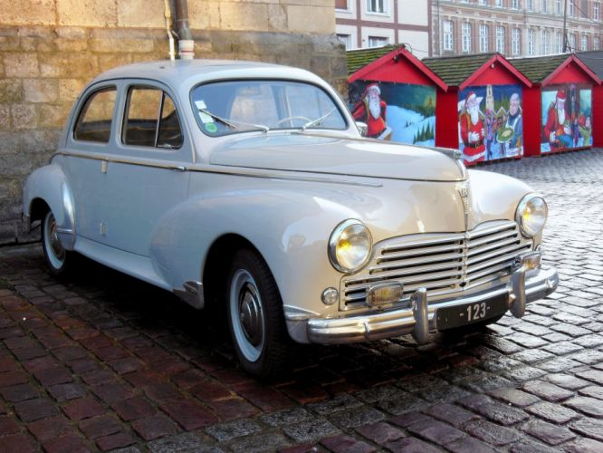 203 peugeot cars classic french sedan wallpaper