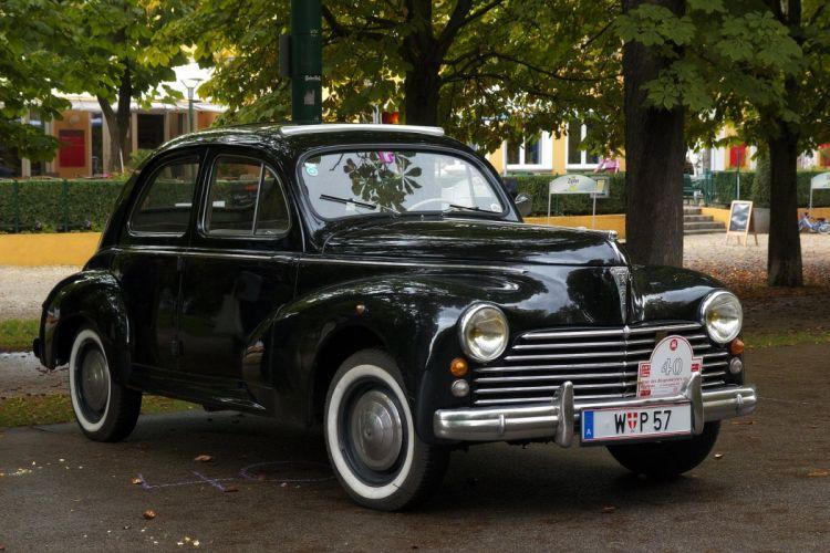 203 peugeot cars classic french sedan wallpaper