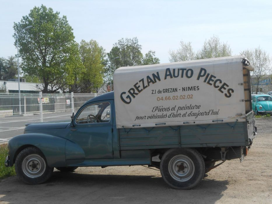 203 cars classic pickup french Peugeot wallpaper