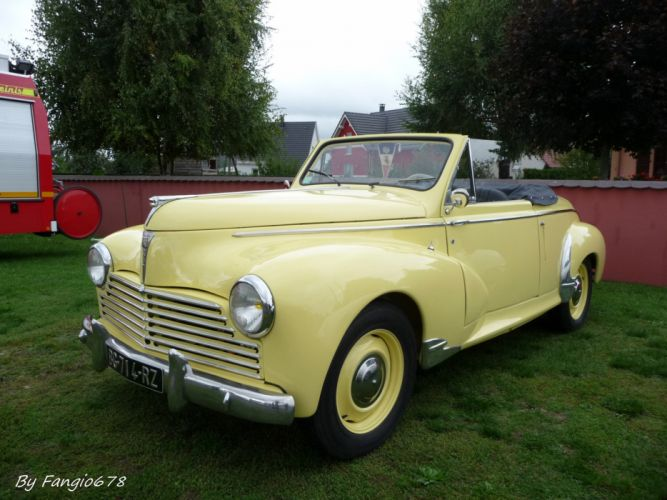 203 cars classic cabriolet convertible french Peugeot wallpaper