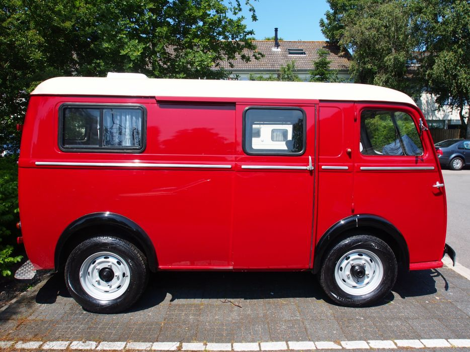 Peugeot D4A classic van delivery camionnette french wallpaper