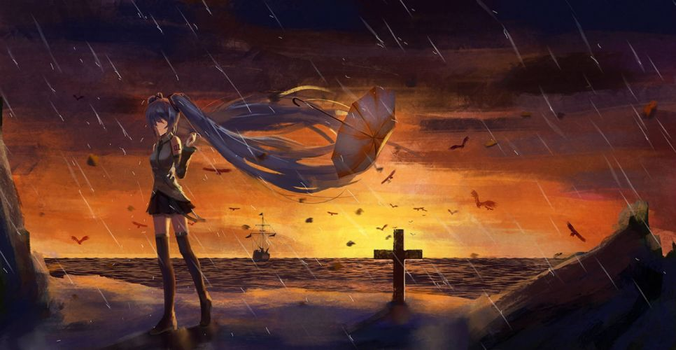 hatsune miku tianya beiming vocaloid wallpaper