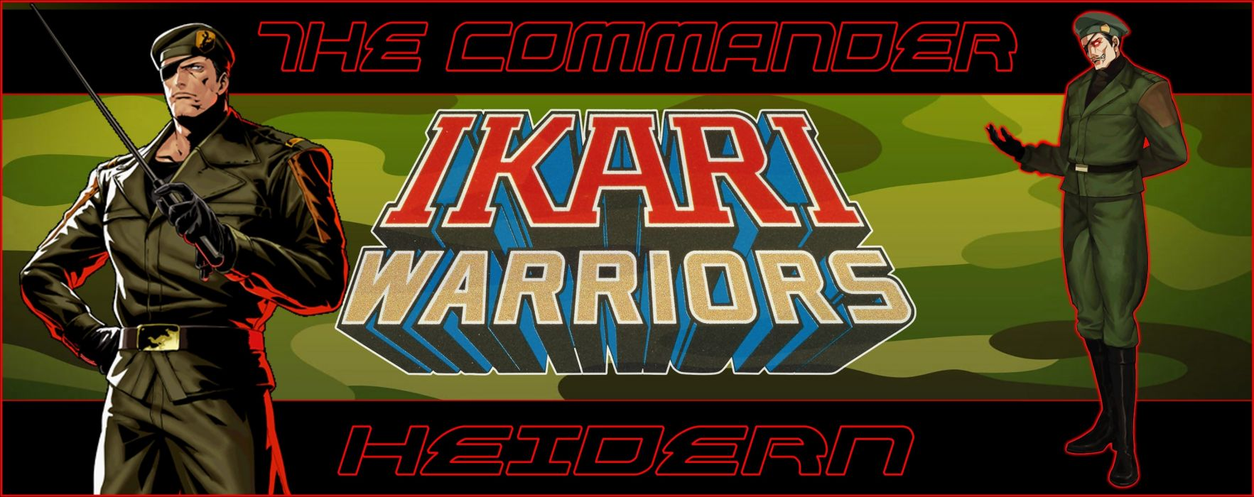 King of Fighters Commander of Ikari Warrior wallpaper