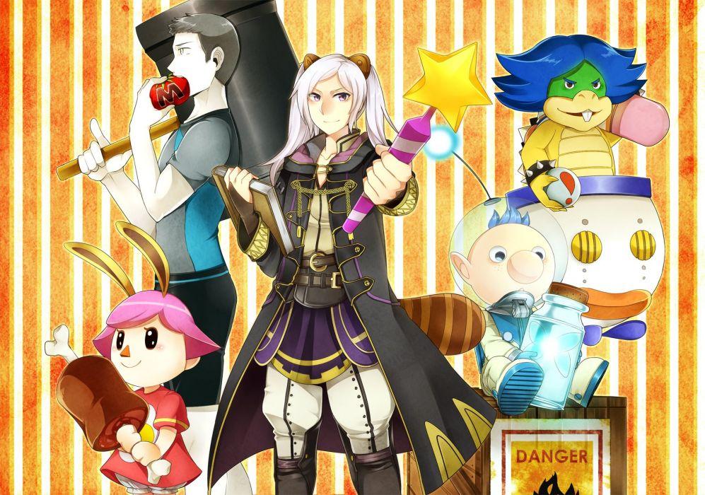 Super Smash Bros Ludwig Von Koopa Rufure Alph wallpaper