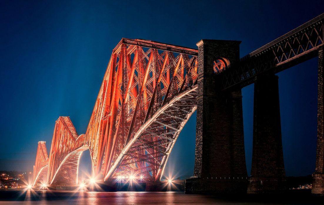 forth bridge alba edinburgh scotland wallpaper