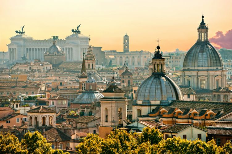 Italy Houses Rome Cities wallpaper