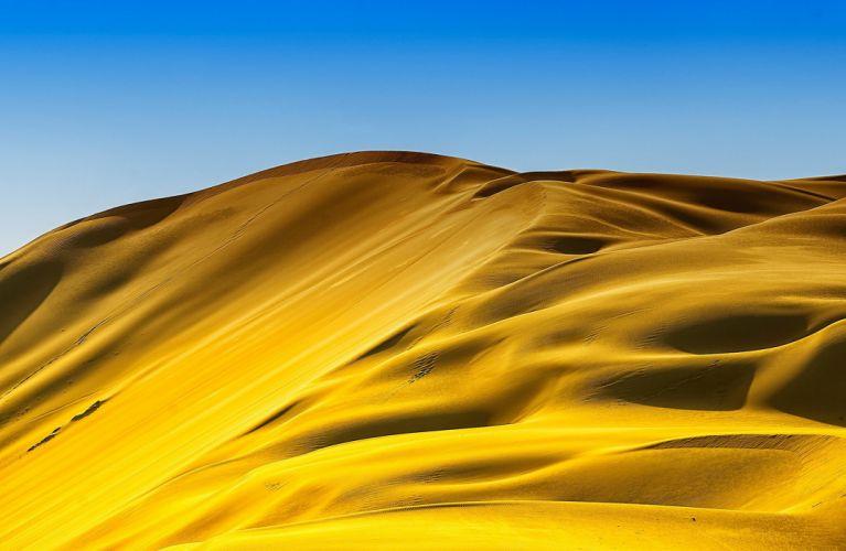 Nature Sand desert dunes wallpaper