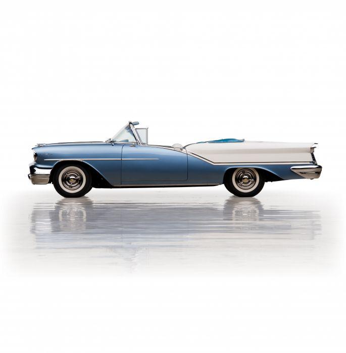 1957 Oldsmobile Starfire 9-8 Convertible 3067DX retro luxury wallpaper