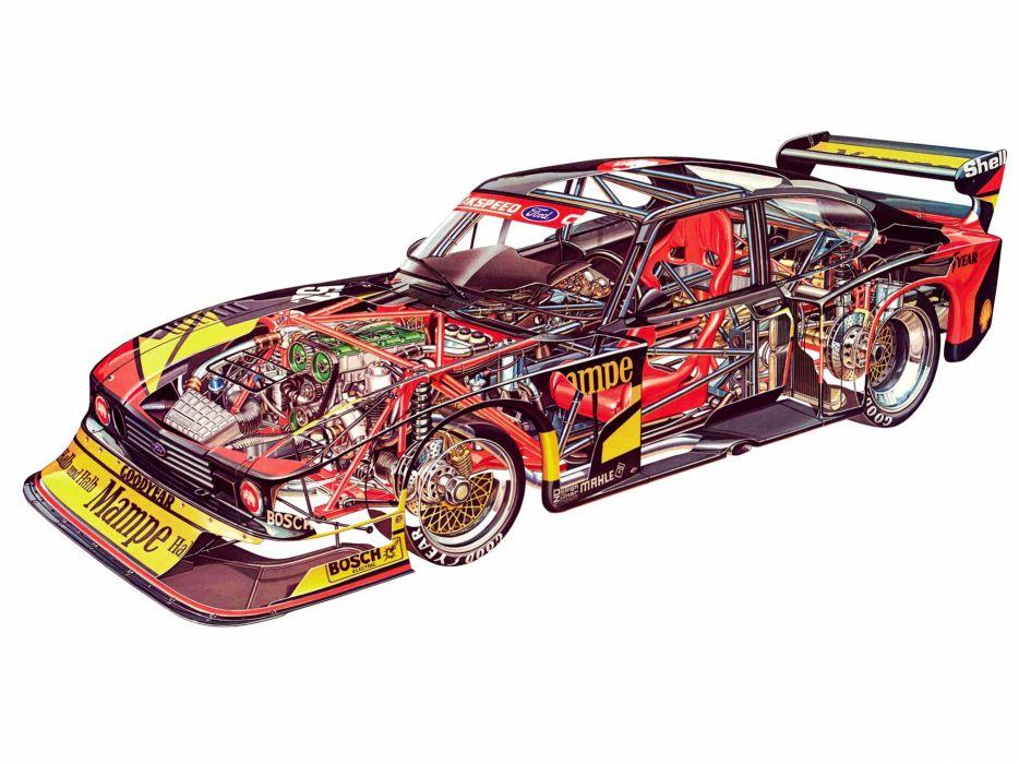 1981 Ford Capri DRM Group-5 race racing wallpaper