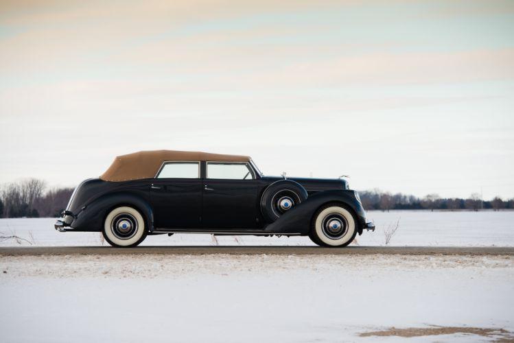 1937 Lincoln Model-K Convertible Sedan LeBaron 363A luxury retro wallpaper