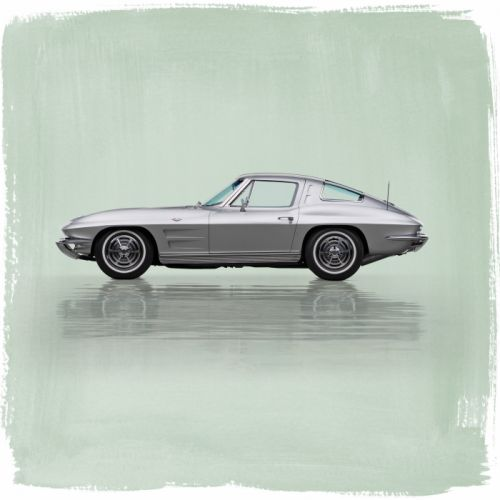 1963 Chevrolet Corvette Sting Ray C-2 muscle supercar classic stingray wallpaper