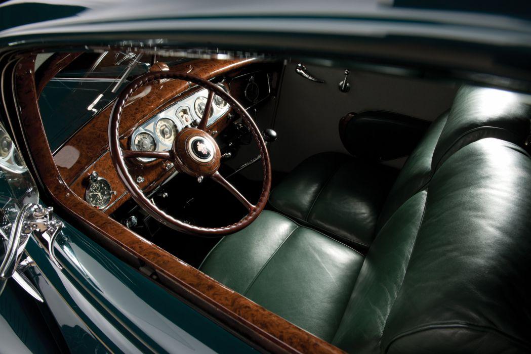 1934 Packard Twelve Sport Coupe LeBaron 1106-783 luxury retro wallpaper