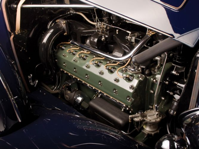 1934 Packard Twelve 5-passenger Coupe 1107-737 luxury retro wallpaper