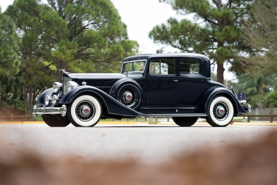 RM Sotheby's - 1934 Packard Super Eight Coupe Roadster   Amelia ...
