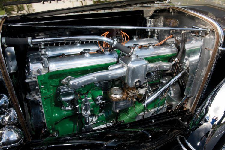1930 Duesenberg Model-J 487-2336 Dual Cowl Phaeton LWB LeBaron luxury retro wallpaper