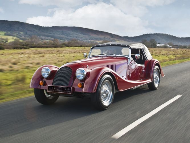 1985 Morgan Plus-4 luxury wallpaper