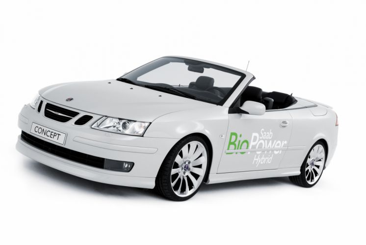 2006 Saab 9-3 Convertible BioPower Hybrid Concept wallpaper