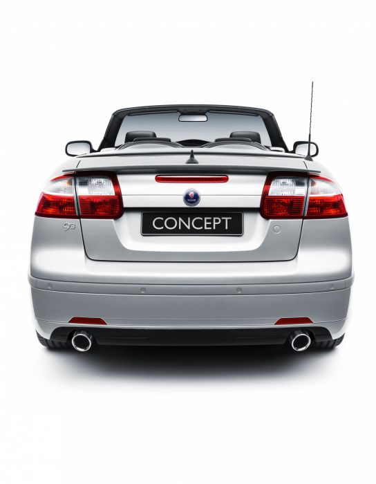 2006 Saab 9-3 Convertible BioPower Hybrid Concept wallpaper