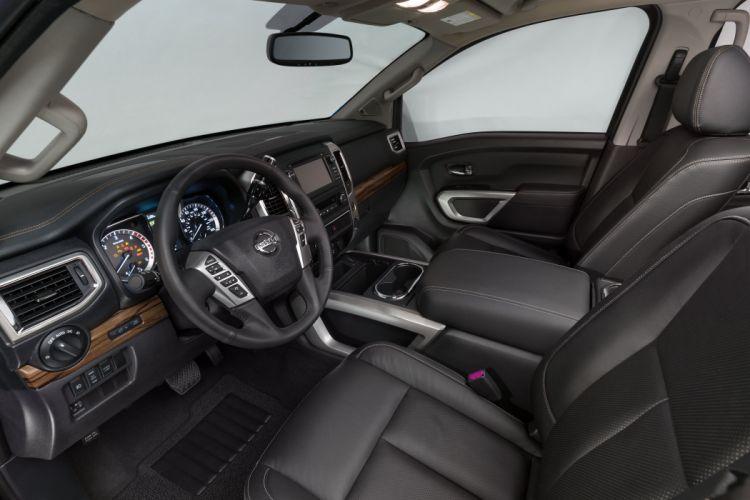 2016 Nissan Titan Crew Cab XDSL pickup wallpaper