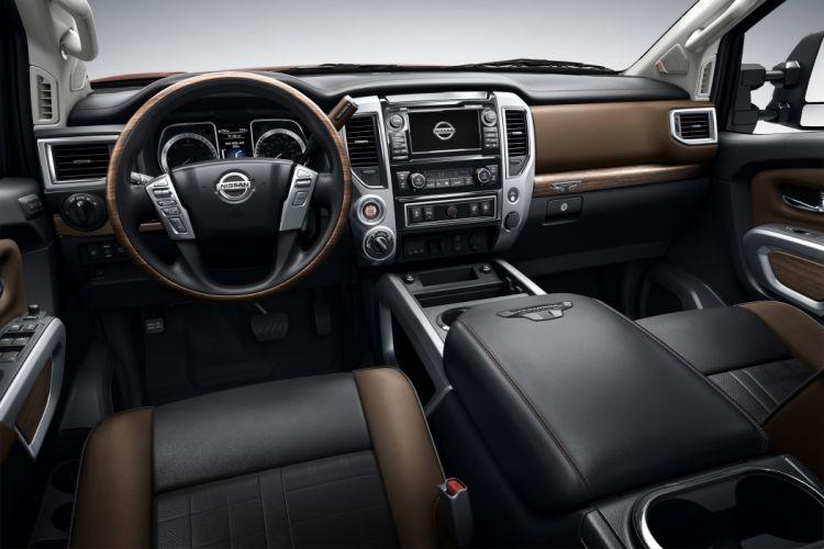 2016 Nissan Titan Crew Cab X-D Platinum Reserve pickup 4x4 wallpaper